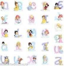 Precious Moments Disney Princess Alphabet Figurines *SEE LETTER SELECTION* NEW!