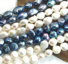 """AAA Natural Freshwater Pearl Nugget Beads 11mm-13mm 14"""" Pick Color Shape"""