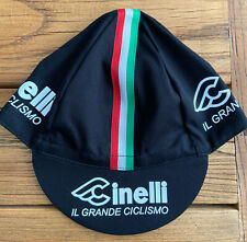 CINELLI CLASSIC TEAM CYCLING CAP NEW BIKE RIDE HAT **