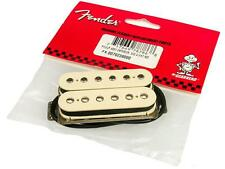New Genuine FENDER ENFORCER Neck-Position Humbucker AGED WHITE 007 6236 000