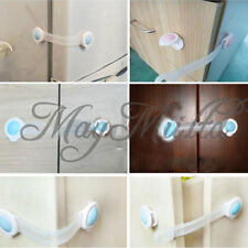 1/5/10X Toddler Baby Cabinet Safety Lock Kids Child Drawer Cupboard Door Locks