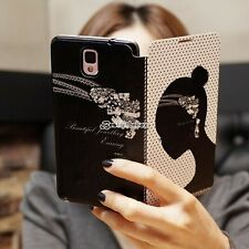 POUR SAMSUNG GALAXY S3/S4/S5 Note 2 3 COQUE HOUSSE ETUI CUIR PU CASE COVER HOT