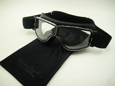 NEW AVIATOR T3 Small GOGGLES L. JEANTET Cafe Racer MOTORCYCLE Classic TT Racing