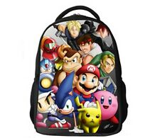 Free shipping Super Mario Children Backpack