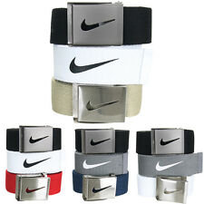 Nike Golf Men's Web Belt 3 Pack - One Size Fits Most