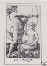 EX LIBRIS BOOKPLATE Apollo And Diana