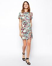 ♥New ASOS Shift Dress in Pastel Paisley Print Size 6 8 10 12 14 16 18 RRP £28♥
