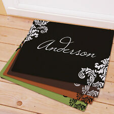 Personalized Family Welcome Doormat  5 Different Colors & 2 Sizes To Choose From