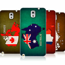 HEAD CASE COUNTRY FLAG MAPS TPU SKIN BACK CASE FOR SAMSUNG GALAXY NOTE 3 N9005