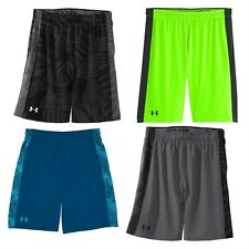 "UNDER ARMOUR MEN'S UA MICRO PRINTED 10"" SHORTS 1236424-MULTIPLE COLORS"