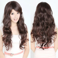 New Sexy Style Women's Lady Girls Long Full Wig Curly Wavy Hair Party Cosplay