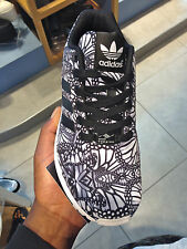 """Womens Adidas ZX FLUX """"BUTTERFLY"""" Limited Edition Sneakers (New)"""
