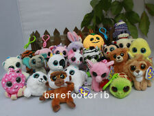 "LOTS Ty Beanies Boos 3"" Solid Eye Plush Clip-on Iceberg Honey Corky Romeo Muffin"