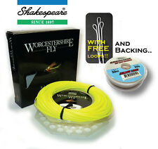 Shakespeare Worcestershire Fly Line & FREE Backing & FREE Loops (RRP £39.99!!)