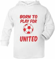 Born To Play For Manchester Utd Cute Present Baby New Born Gift  Supersoft Baby