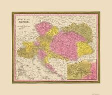 AUSTRIAN EMPIRE BY S A MITCHELL 1846