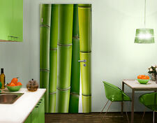 Door Photo Wall Mural Bamboo Plants Wallpaper Motif Murals Self Adhesive Asia
