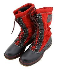 Coach Women's Shaine Paprika Water Resistant Snow / Winter Boots A7390 NEW