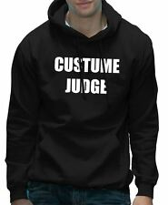 Costume Judge Fancy Dress Halloween Party Hoodie