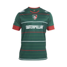 Leicester Tigers Canterbury Home Pro Kids Short Sleeved Rugby Jersey 2014-15