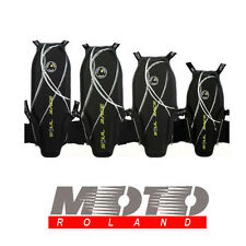 PARASCHIENA da MOTO SOUL RACE SUPERLIGHT FLASH MSR36 PROTEZIONE RIGIDA LIVELLO 2
