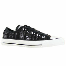 Converse CT Ox Sequins Black Womens Trainers