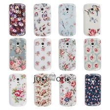 Vintage Rose Daisy Flower Printed Case Cover for Samsung Galaxy S3 mini i8190