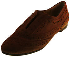 Nine West New Womens Brown Leather Loafers Oxfords Shoes Sz 6 7 8 9 9.5 Ret $89