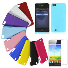 Ultra Thin Matte Frosted Rubberized Hard Case Back Cover for ZOPO C2 Phone +Flim