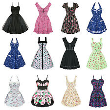 Hell Bunny New Dress Clearance Sale Vintage Style 50s Rockabilly Party Prom