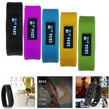 LED Bluetooth Sport Health Smart Wrist Band Bracelet for IOS Android iPhone #F8s
