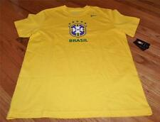 New NIKE NWT Mens T-Shirt Brazil Football Confederation Brasil CBF Soccer *Q5