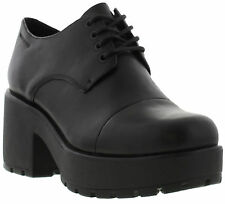 Vagabond Dioon Shoe Womens Heeled Leather Lace-Up Shoes Sizes UK 4 CLEARANCE