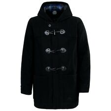 RRP £119.99 TRESPASS MENS WOOL MIX DUFFLE JACKET/COAT SIZES M-XXL