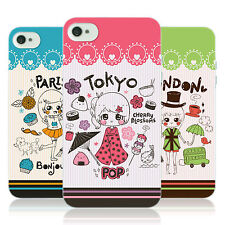HEAD CASE CITY SYMBOLS TPU SKIN BACK CASE COVER FOR APPLE iPHONE 4S