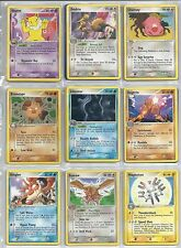 Choose your Pokemon Non Holo Rare Card From The List Part 1