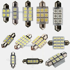 LED Car Bulb 31/34/36/39/41/42mm Festoon SMD Dome Map Interior Light Lamp 12V