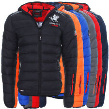Geographical Norway Becket Men Herren Stepp Jacke Winter Jacke