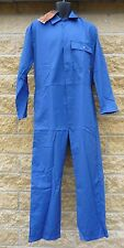 Top Quality 60/40 Royal Blue Polycotton Boilersuit Coverall Overalls NEW SURPLUS