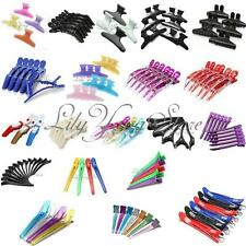 Hairdressing Butterfly Hair Salon Claw Hairdresser Section Clip Clamp Grips Set