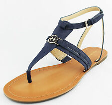 Tommy Hilfiger Womens Blue Lorine Sandals Shoes Ret $59 New