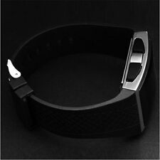 So Cool Hot Fashion  Alarm LED Black White Men Women Gel Sport Watch Wrist
