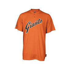 San Francisco Giants Majestic Cooperstown 2 Button MLB Jersey Shirt New M186A