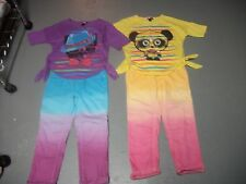 SELF ESTEEM TOP & SO ANKLE CROP JEANS CAT OR PANDA SET OUTFIT GIRLS SZ M 10 12