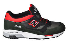 GREEN RED and BLUE SOX/black SUEDE, canvas, PELLEUOMO f/w NEW BALANCE 15I04