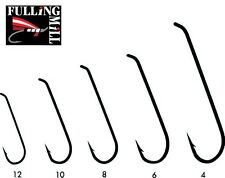 FULLING MILL Traditional Streamer Fly Tying Hooks - ALL SIZES - SALE!! FREE P+P