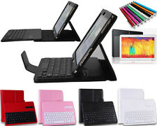 Bluetooth Removable Keyboard Case Cover Fr Samsung Galaxy Note 10.1 2014 Edition