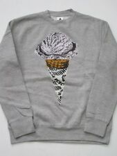 CONE GREY ICE CREAM BBC BILLIONAIRE BOYS CLUB PHARRELL CREW Sweater SINGLESCOOPE