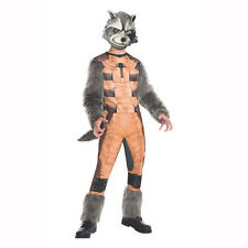 Guardians of The Galaxy Rocket Raccoon Deluxe Child Costume Rubies 620003