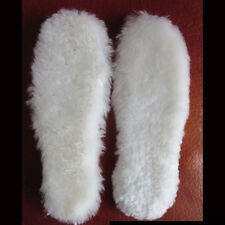 Sheepskin Full Insoles for Winter Boots Super Warm Unisex All size